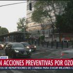 Foto: Activan acciones preventivas por ozono en el Valle de México