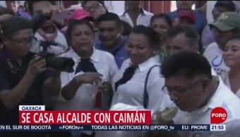 Foto: Alcalde Oaxaca Casa Caimán 2 Julio 2019