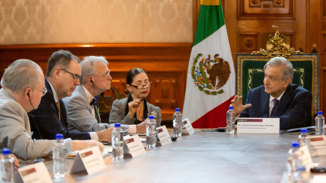 Foto: El presidente de México, Andrés Manuel López Obrador (AMLO), se reunió con congresistas de Estados Unidos, 19 julio 2019