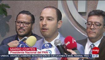 AMLO impulsó ampliación de mandato en BC: Marko Cortes