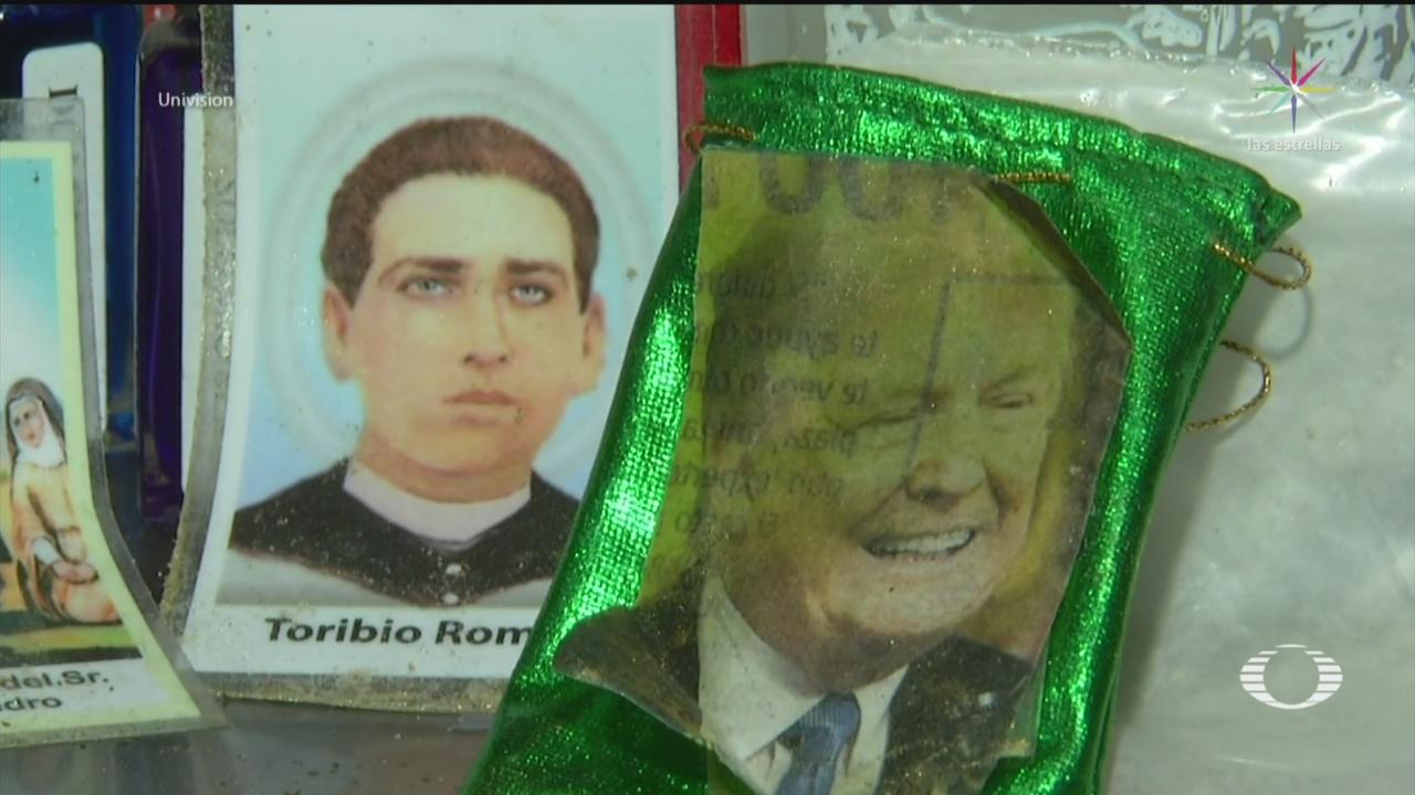 Foto: Amuleto Contra Trump Venta Mercado De Sonora 19 Julio 2019