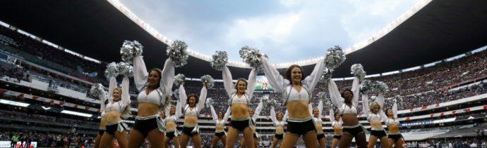 partido de la nfl en el estadio azteca en noviembre de 2017