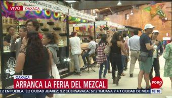 FOTO: Arranca la Feria del Mezcal en Oaxaca, 20 Julio 2019