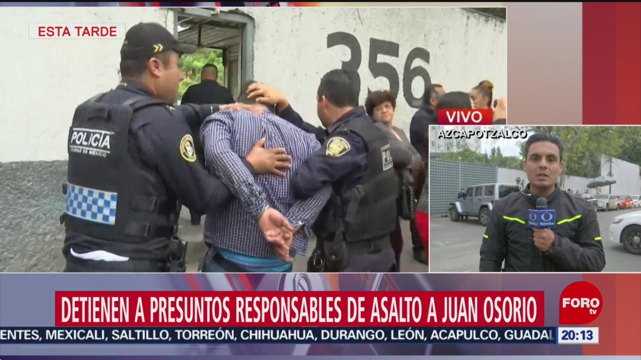 Foto: Asaltantes Casa Robo Casa Juan Osorio 17 Julio 2019