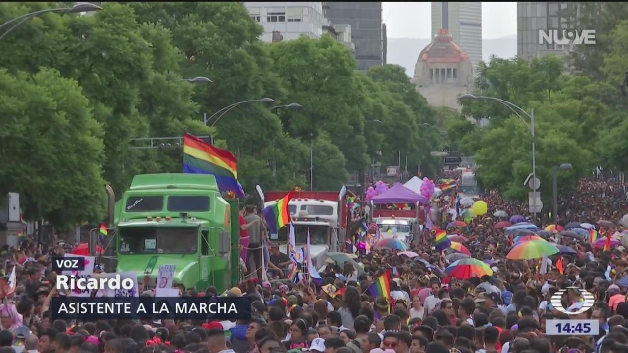 Foto: Así se vivió la marcha del orgullo gay en la CDMX