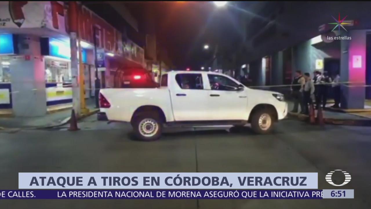 Ataque armado en Córdoba, Veracruz