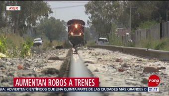 Foto: Aumenta Robo Trenes México 10 Julio 2019