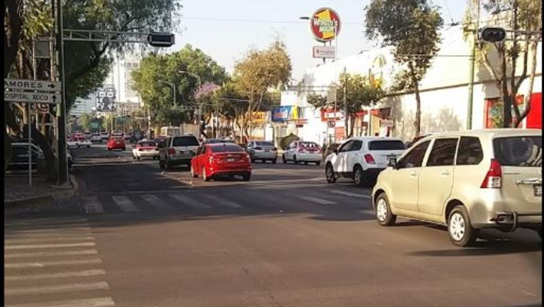 Imagen: En la avenida Municipio Libre sucedió el crimen, 18 de julio de 2019 (Google Street View)