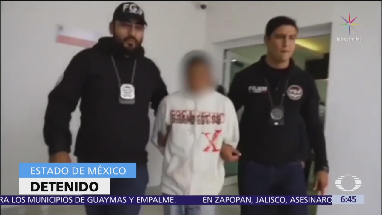 Capturan a violador de niños en Chalco, Edomex