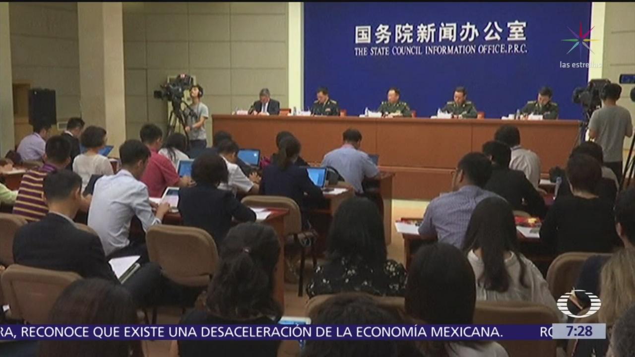China lanza advertencia a Hong Kong