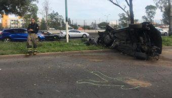 oto: Este domingo se registró un aparatoso accidente en Avenida Central, 21 julio 2019