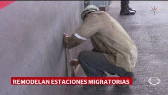 Foto: Remodelación Estación Migratoria Siglo XXI AMLO Chiapas 23 Julio 2019