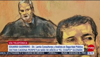 Condena del 'Chapo' termina con una figura icónica: analista