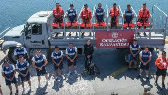 Foto: Inicia 'Operación Salvavidas', 6 de julio de 2019 (@SemarMx)