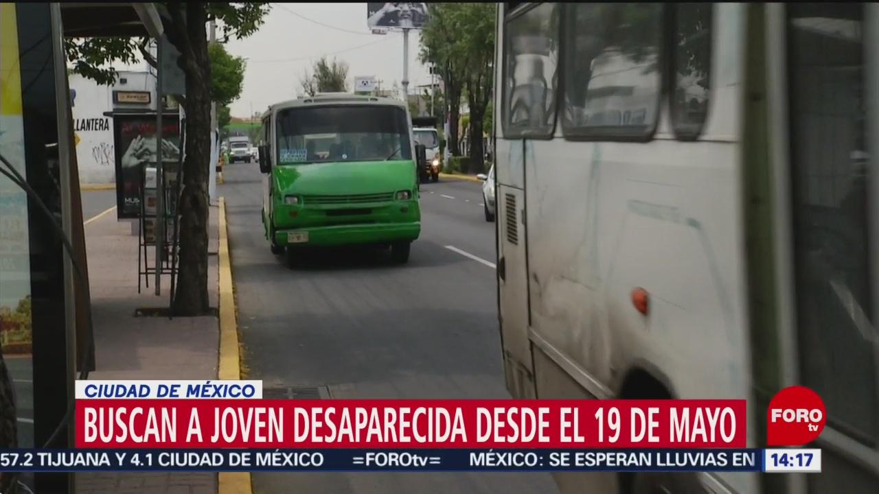 Foto: Daniela Ramírez desapareció mientras viajaba en taxi