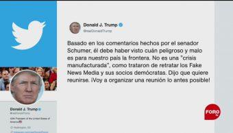 FOTO: Demócratas vieron intento de ingreso de migrantes: Trump, 21 Julio 2019
