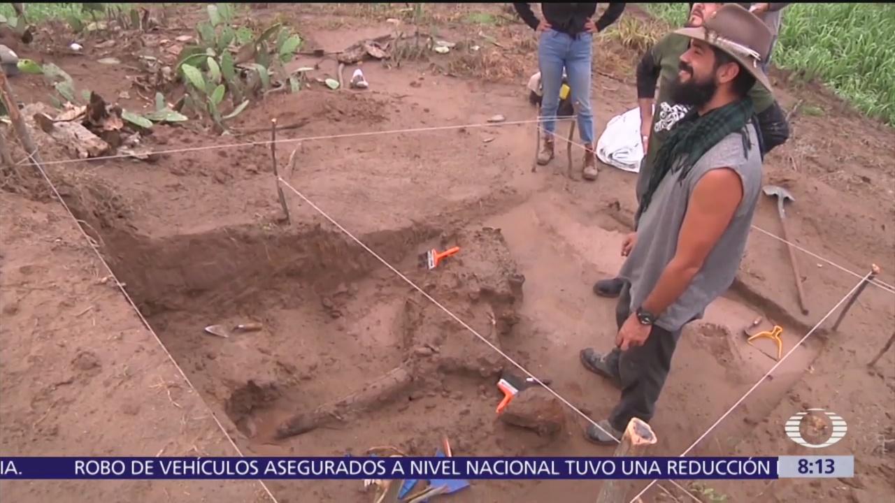 Descubren fósiles de 13 mil años de antigüedad en Jalisco