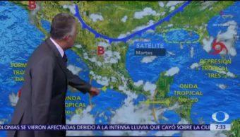 Despierta con Tiempo: Valle de México registrara lluvias vespertinas