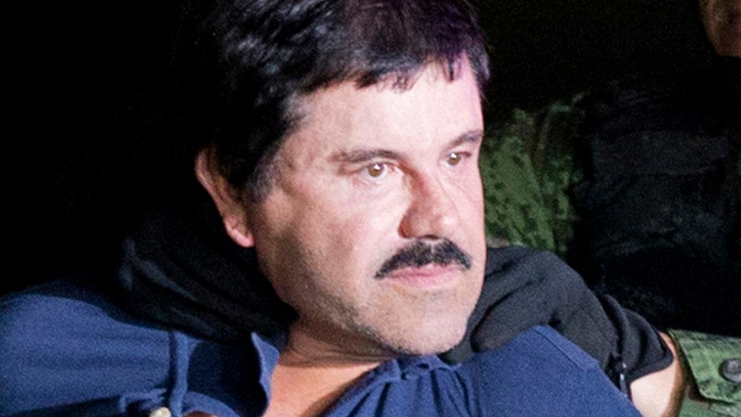 """FOTO Ebrard: México y EU deben cooperar para recuperar dinero de """"El Chapo"""", que se ve en la imagen (AP)"""