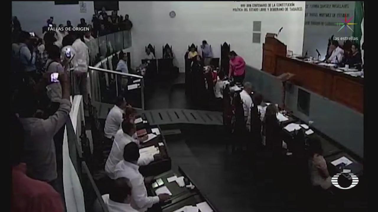 Foto: Diputados Aprueban Ley Garrote Tabasco 29 Julio 2019
