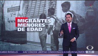 El 40% de los migrantes que buscan cruzar México son menores de edad