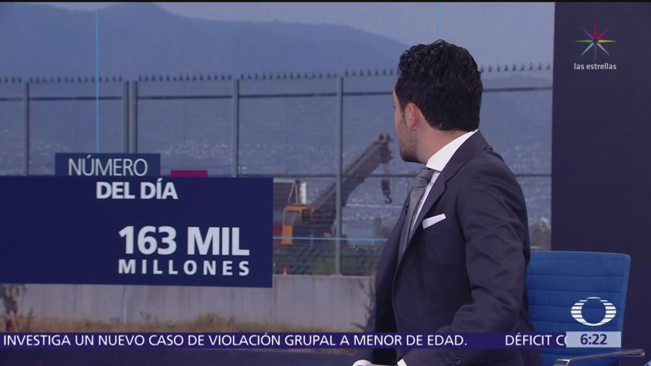 El número del día: 163 mil millones