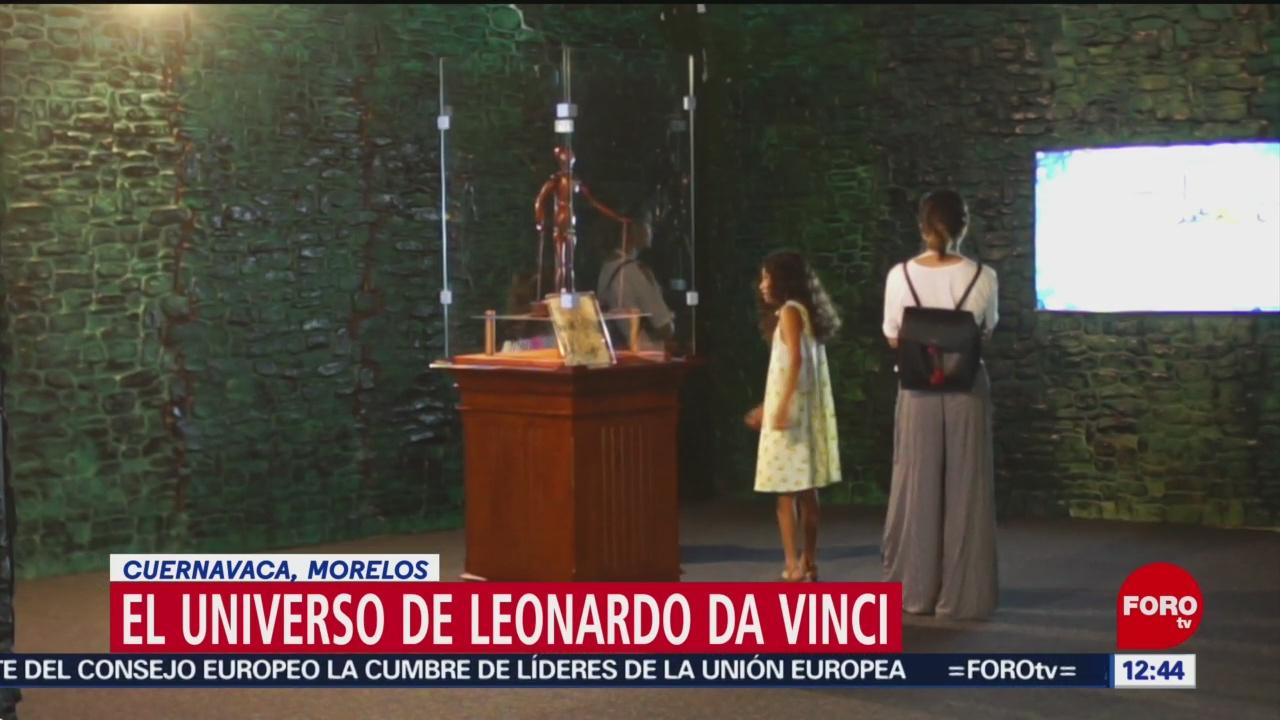"""""""El Universo de Leonardo da Vinci"""", la mayor exposición en Latinoamérica"""