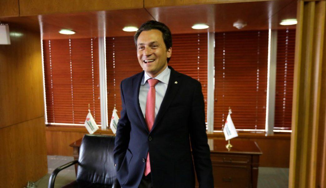 Foto: Emilio Lozoya, exdirector de Pemex, 18 de diciembre de 2014, Ciudad de México