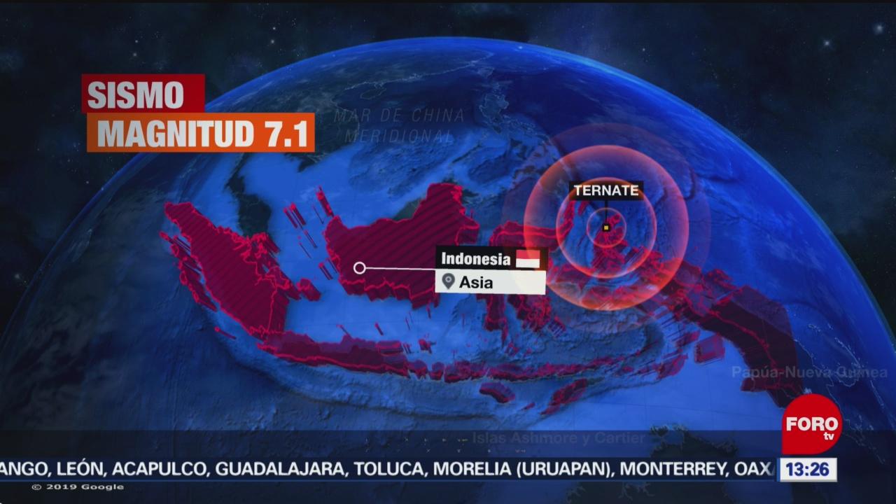 FOTO: Emiten alerta de tsunami en Indonesia tras sismo, 7 Julio 2019