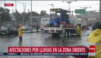 Foto: Encharcamientos Inundaciones CDMX Hoy 16 Julio 2019