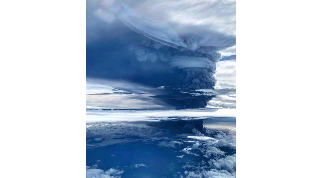 foto Partículas de vidrio de erupción volcánica pueden provocar la muerte 26 junio 2019
