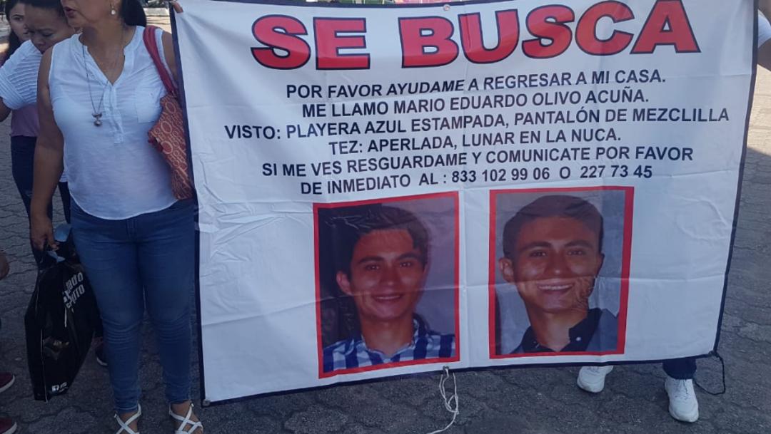 FOTO Por estudiante desaparecido en Tamaulipas hay 3 detenidos (Twitter)