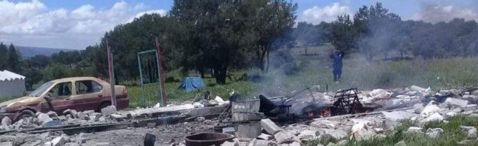 explosión de polvorín en Tlaxcala