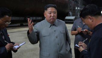 Foto: Kim Jong-un, líder de Corea del Norte. El 23 de julio de 2019