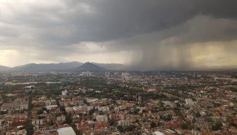 Foto: Llueve en la Ciudad de México el 4 de julio de 2019