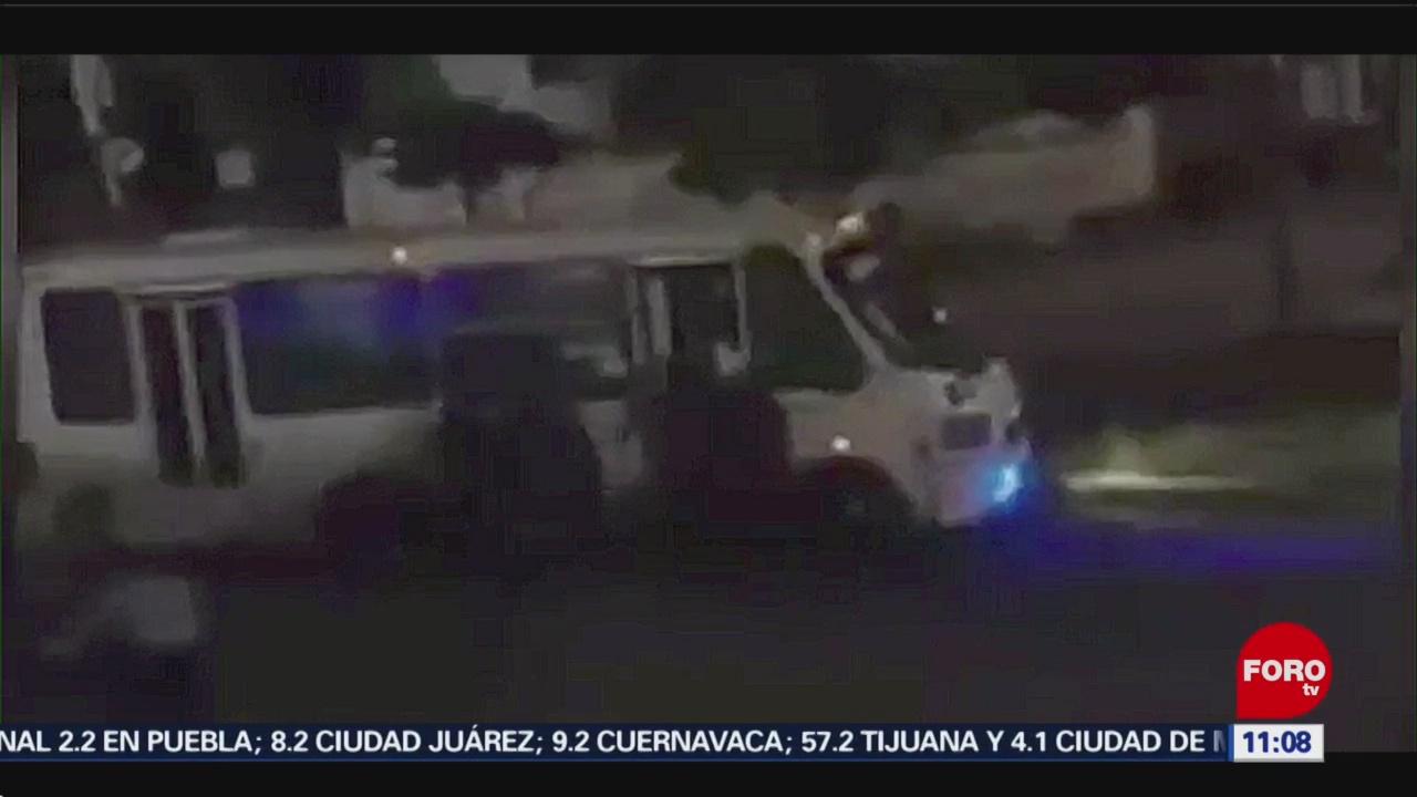 Golpean a presunto asaltante ebrio en Puebla