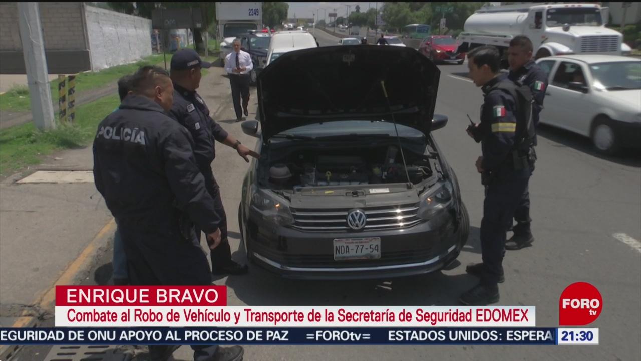 Foto: Implementan Operativo Recuperar Autos Robados Edomex 10 Julio 2019