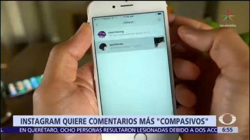 Instagram alertará a usuarios que hagan comentarios ofensivos