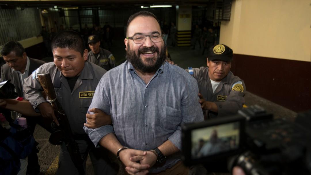 Foto: Javier Duarte, exgobernador de Veracruz, 4 de julio de 2017, Guatemala