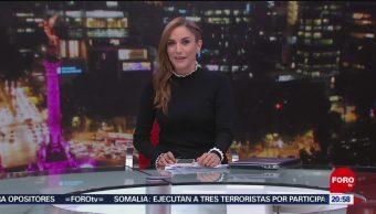 Foto: Las Noticias Danielle Dithurbide Forotv 10 Julio 2019