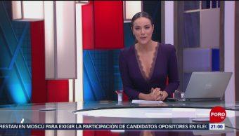 Foto: Las Noticias Danielle Dithurbide Forotv 15 Julio 2019