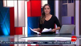 Foto: Las Noticias Danielle Dithurbide Forotv 19 Julio 2019