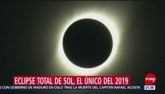 Foto: Eclipse Solar 2 Julio 2019