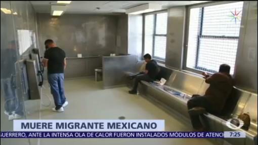 Muere otro mexicano bajo custodia de ICE