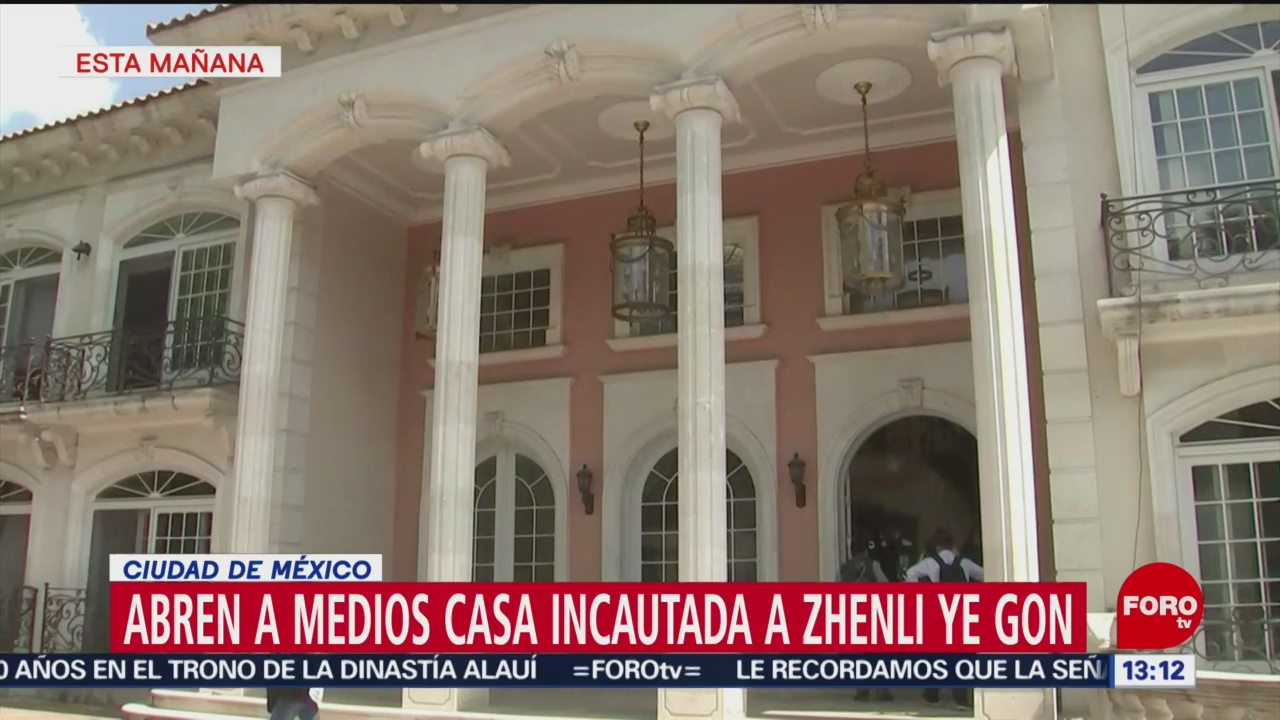 Muestran Prensa Casa Incautada Zhenli Ye Gon