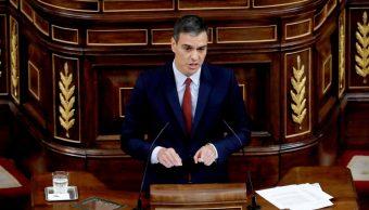 Foto; Pedro Sánchez presenta programa de gobierno en España, 22 de julio de 2019, Madrid