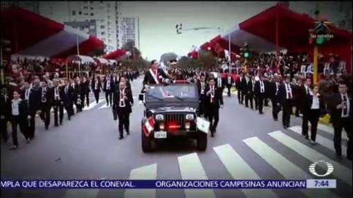 Presidente de Perú propone adelantar elecciones