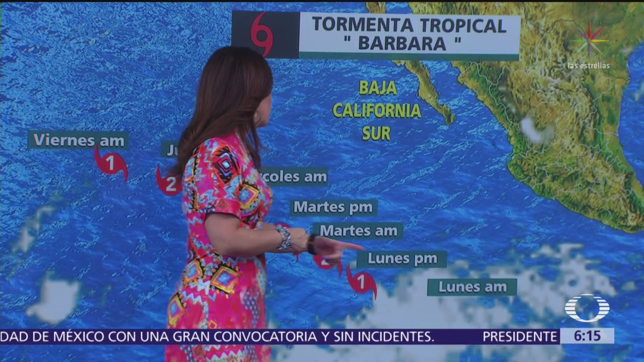 Prevén lluvias fuertes en oriente, centro, sur y sureste de México