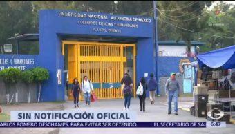 Rector de la UNAM desconoce novedades en investigación del caso Aideé