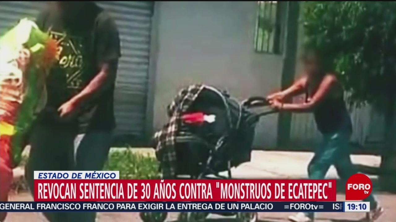 Foto: Revocan Sentencia 30 Años Monstruos De Ecatepec 11 Julio 2019